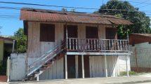 casa de madera en el progreso