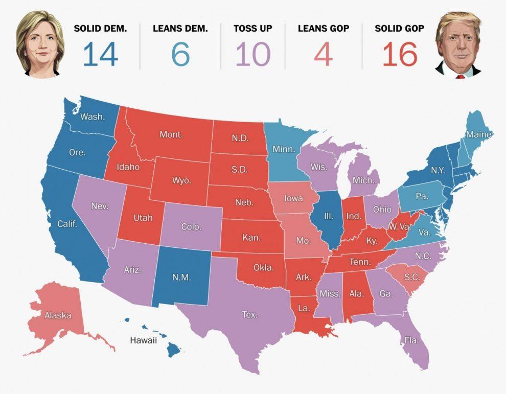 proceso electoral de los Estados Unidos