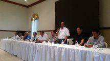 Ministro se reúne con empresarios de El Progreso para imponer Peaje