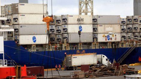 colapsa el sistema aduanero en Puerto Cortés