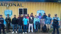 inmigrantes africanos que pasan por Honduras