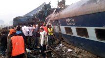 descarrilamiento de tren en India