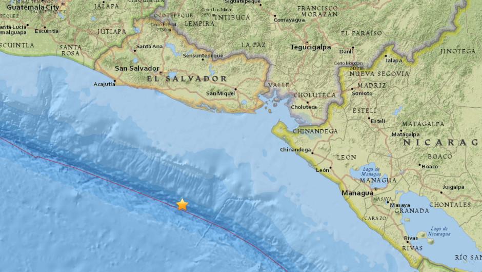 Se registra un sismo de 7.2 grados en la zona sur de Honduras