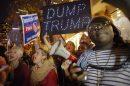 protestas y disturbios tras victoria de Trump