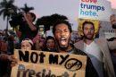 marchas y protestas contra trump