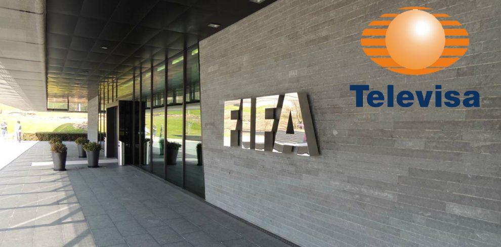 Resultado de imagen de televisa y Fifa